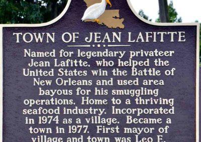 lafitte-town-plaque